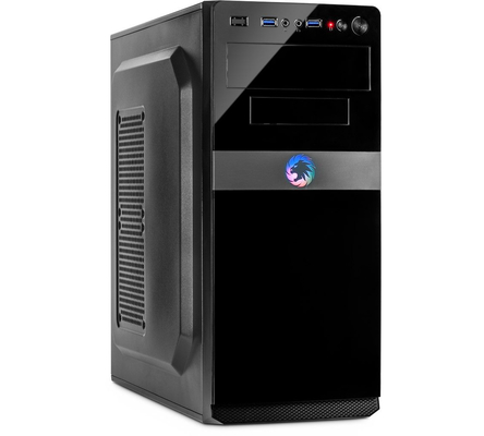 DW System Gaming SixCore(6C/12T) AMD mit AMD Ryzen 5 3600X 6x3800MHz max Turbo 4400MHz, Nvidia 1650 GTX 4GB VRAM, 8GB DDR4 RAM, 240GB SSD, Windows 10